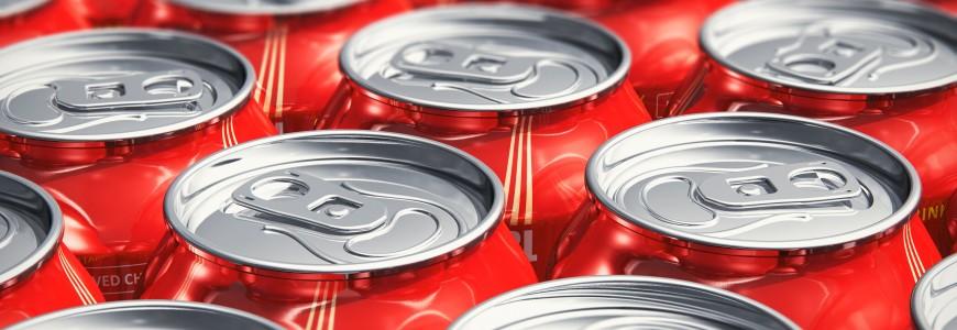 Sugar and beverage manufacturer labels