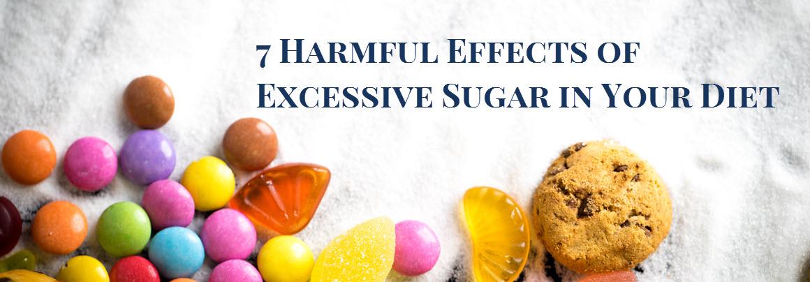 7 Harmful Effects of Sugar Banner