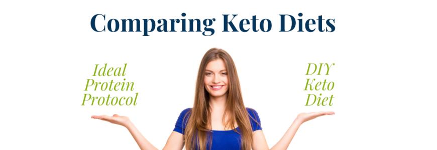 MBT Blog Ideal Protein vs DIY Keto Diets Banner