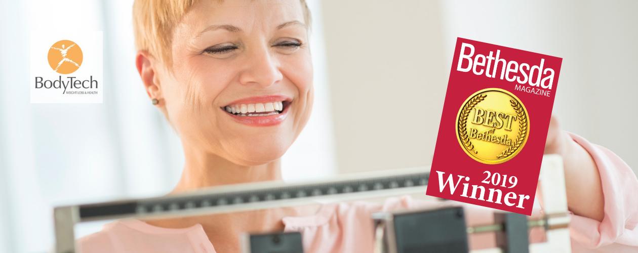 BodyTech Winner of Bethesda Magazine Best Weight Loss Clinic